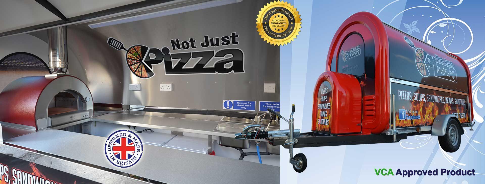 Pizza Caterpod Trailer