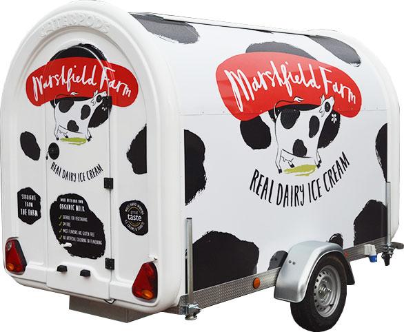 Marshfield Ice Cream Caterpod